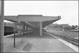 Portishead station in 1960