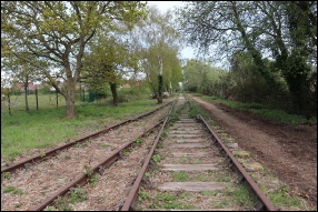 End of double track – looking towards Bristol