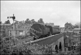 Pill viaduct in 1960